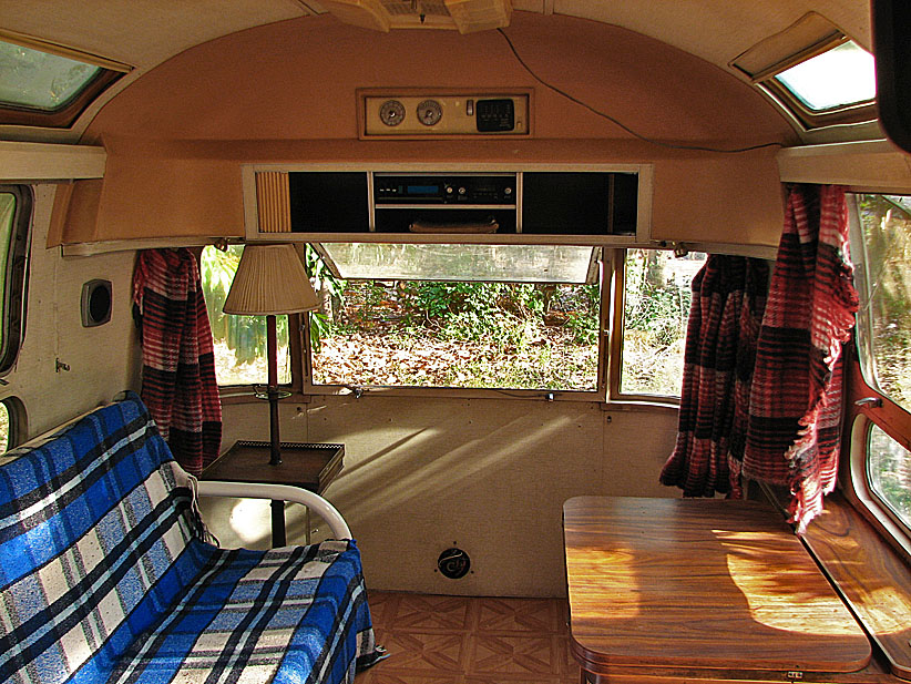 Airstream curtains